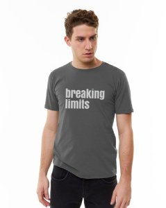 Camiseta SENSE Masculina Breaking Limits Chumbo - Tam. G