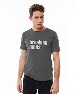 Camiseta SENSE Masculina Breaking Limits Chumbo - Tam. GG