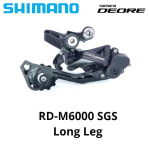 Câmbio Traseiro SHIMANO Deore 10v M6000 GS/SGS
