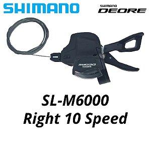 Alavanca de Câmbio Direito SHIMANO Deore M6000 10v