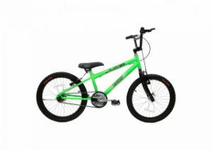 Bicicleta CAIRU Cross Flash Boy Aro 20 Verde Neon