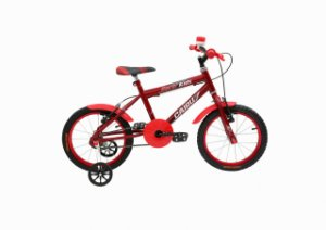 Bicicleta CAIRU Racer Kids Aro 16 Vermelho