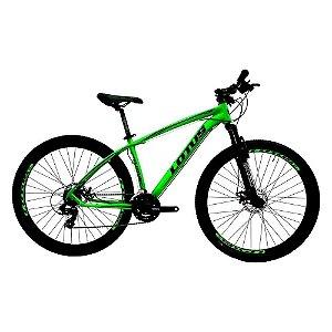 Bicicleta LOTUS Alav/CXR Aro 29 21V Verde/Preto - Tam. 17,5