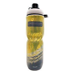 Garrafa Termica FIV5R Transparente Amarela - 700ml