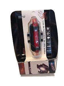 Sinalizador Traseiro Led Recarregável USB in Line H1717