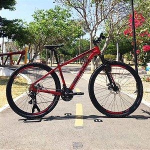Bicicleta SHOOT RAGE Aro 29 21v Vermelho - Tam. 15