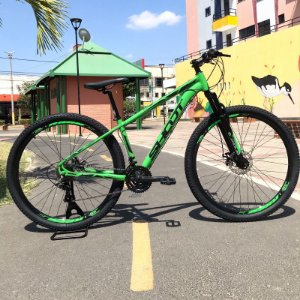 Bicicleta SHOOT RAGE Aro 29 21v Verde - Tam. 15