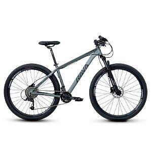 Bicicleta RAVA PRESSURE Aro 29 20V Cinza/Preto - Tam. 17