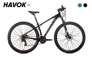 Bicicleta AUDAX Havok SX 2021 Aro 29 Preto - Tam. 19