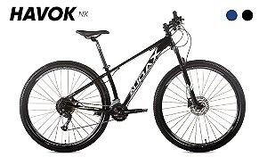 Bicicleta AUDAX Havok NX 2021 Aro 29 Preto - Tam. 19