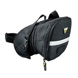 Bolsa de Selim TOPEAK Aero Wedge Pack c/ Tiras - Tam. M