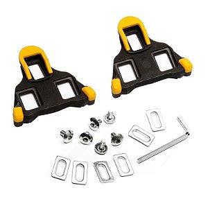 Taquinho p/ Pedal MTB SHEMBA Amarelo
