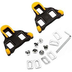 Taquinho de Pedal SHIMANO Speed SH11 Amarelo