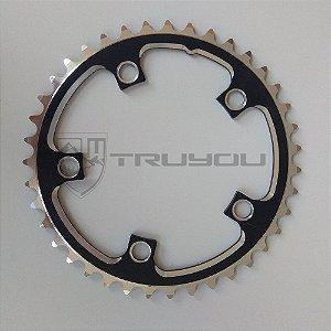 Coroa TRUYOU 110 BCD 50T Preto/Prata