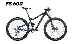 Bicicleta AUDAX FS600 SLX Alumínio 2021 Aro 29 12v Preto/Azul - Tam. 18
