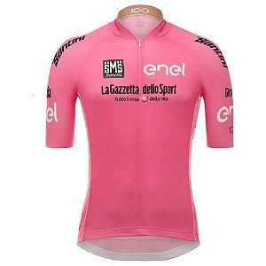 Camisa de Jersey Feminina Santini - Rosa - Tam. P