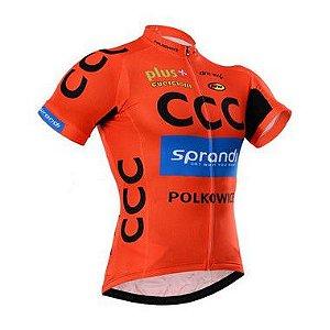 Camisa de Jersey manga curta bike ciclismo - CCC - Tam. G
