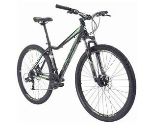 Bicicleta TSW Posh 29w preto/verde - TAM 15,5  - alumínio 6061