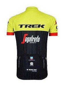 Camisa de Jersey Trek Verde/Preta - Tam. M