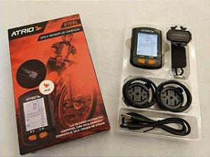 GPS e Sensor de Cadência ATRIO Steel IPX6 Bluetooth Mod. BI132