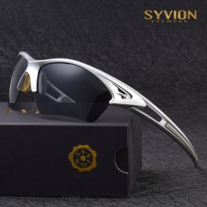 Óculos Esportivo SYVION Eyewear Prata
