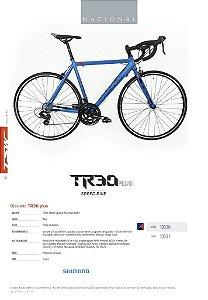 Bicicleta TSW Speed TR-30 700c  Azul - TAM 54
