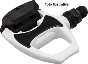 Pedal Shimano R540 Branco - Usado