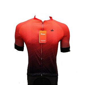 Camisa Jersey MARELLI Europa Degradê Vermelho - Tam. M