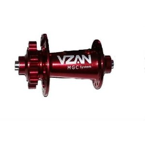 Cubo Dianteiro Vzan MGC 28F 9mm - Vermelho