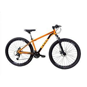 Bicicleta RAVA Pressure 29x24V Laranja/Preto - TAM. 17