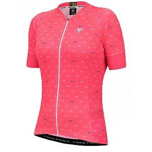 Camisa Ciclismo Feminina Cycles Coral - TAM. M