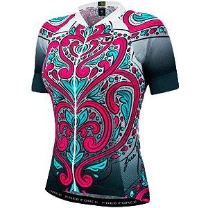 Camisa Ciclismo Feminina FREE FORCE Sport Paradise M