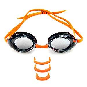 Óculos de Natação SPEEDO Atac Preto Fumê