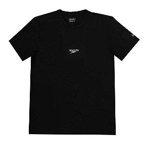 Camisa Masculina SPEEDO Basic Stretch Preto - TAM. G