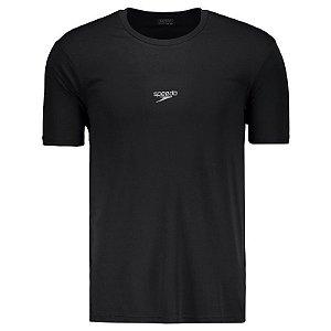 Camisa SPEEDO Basic Interlock UV50 Preto - TAM. GG