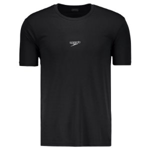 Camisa SPEEDO Basic Interlock UV50 Preto - TAM. G