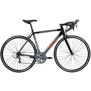 Bicicleta CALOI Strada 700C/16V Preto/Cinza - TAM. 54