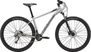 Bicicleta CANNONDALE Trail 6 Aro 29/18V Prata - TAM. M