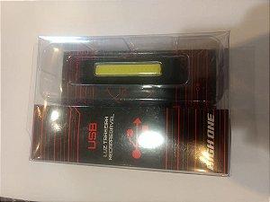 Luz Traseira HIGH ONE com Carregador USB Amarelo