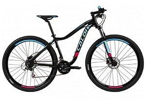 Bicicleta CALOI Kaiena Sport 29' 21V Preto/Azul - TAM. P