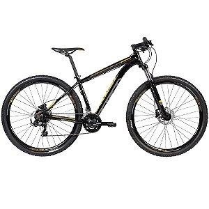 Bicicleta CALOI Explorer Sport Preto/Amarelo 29' 21V  TAM. M
