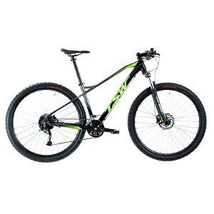 Bicicleta TSW Stamina Aro 29/27V Preto/Verde - Tam. M
