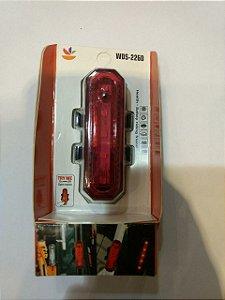 Sinalizador Traseiro J.W.S Luz Vermelha WDS - 2260