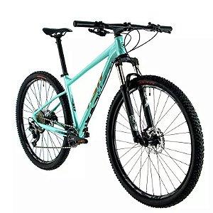 Bicicleta TSW Hurry Aro 29/ 11V Verde/Gold - TAM. 17