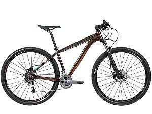 Bicicleta CALOI Explorer Expert Aro 29/27V Marrom 2020 - Tam. 17