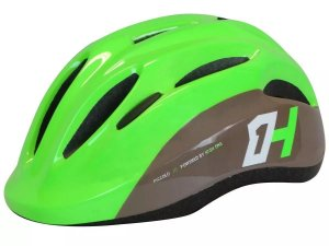 Capacete HIGH ONE Bike Infantil Piccolo New Verde/Cinza - Tam. M