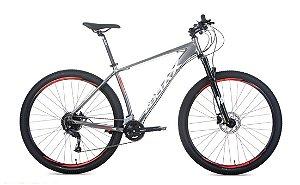 Bicicleta Audax Havok NX Aro 29 9V Cinza/Prata -  Tam. 17
