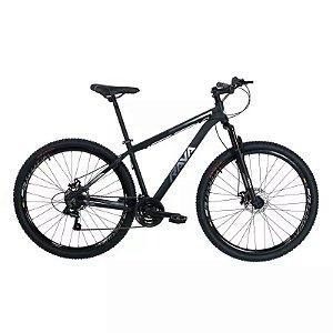 Bicicleta RAVA Pressure 2020 Aro 29/21V Preto/Branco - Tam. 17