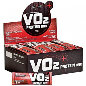 Barra de Proteina INTEGRAL MEDICA VO2 Chocolate - Caixa 24 UN
