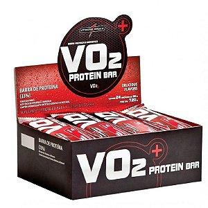 Barra de Proteina INTEGRALMEDICA VO2 Morango - Caixa 24 UN